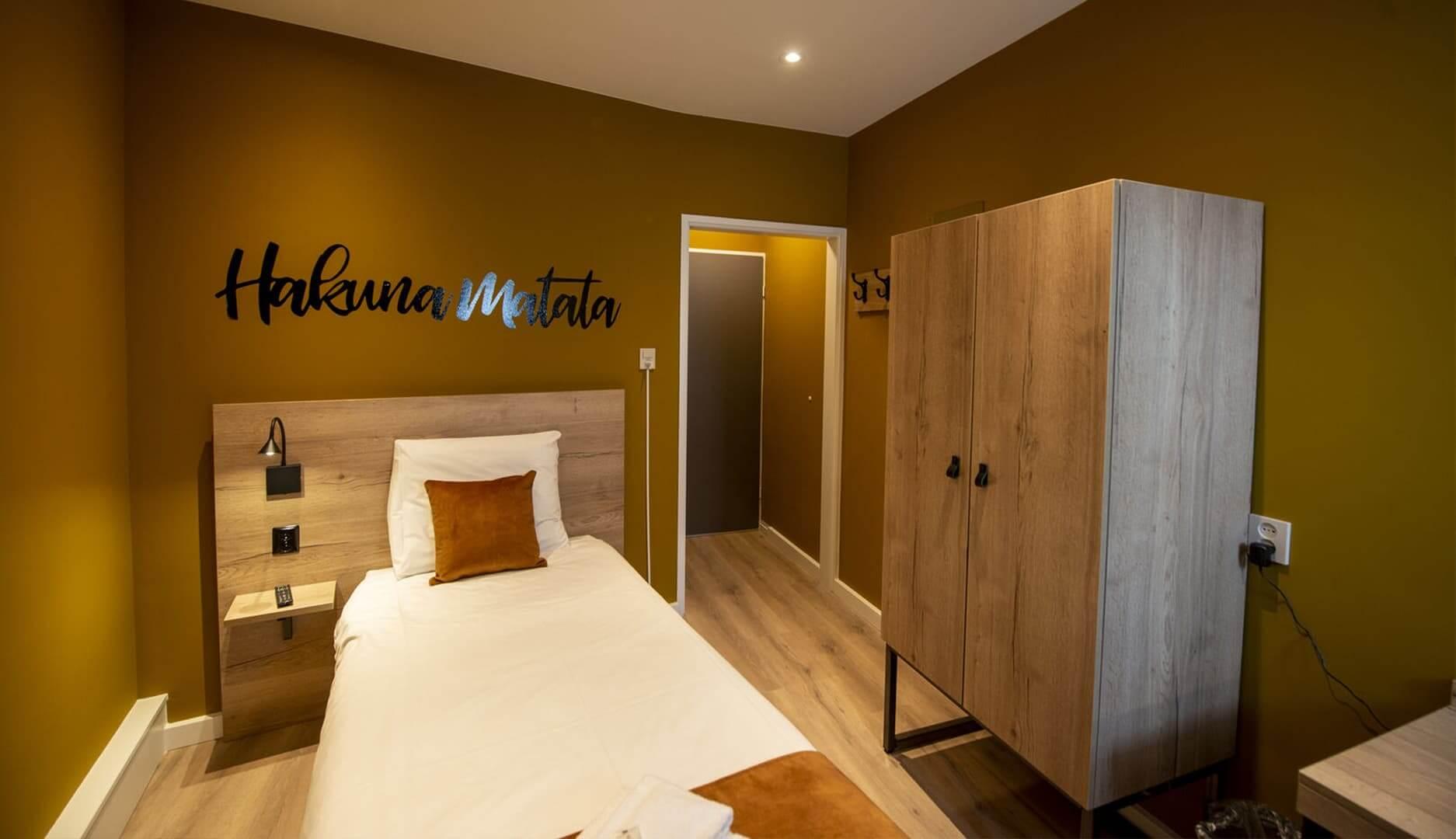 Comfort eenpersoonskamer 1